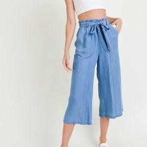 Pants - Tencel Paperbag Pants